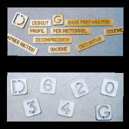 lettre-en-laiton-pour-cassettes-radiographiques