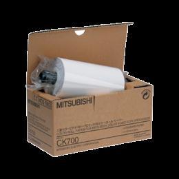 Rouleau de papier thermique Mitsubishi CK700 (l'unité)
