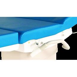 Poignées d'assistance escamotables pour divan d'examen Promotal eMotio