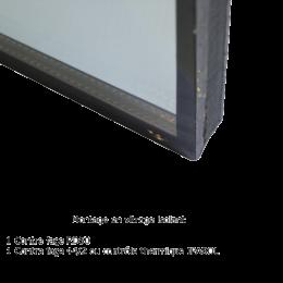 Montage verre isolant - 1 verre RD50 et 1 verre 44/2 (au m²)