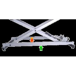 Système de commande périphérique pour divan d'examen Mobercas à piétement gris