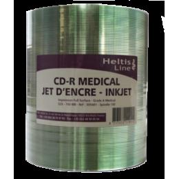 CD-ROM Premium grade A medical - jet d'encre (100 unités)