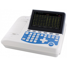 Electrocardiographe ECG Spengler Cardiomate 6 (6 pistes) avec interprétation