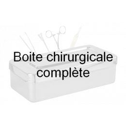 Boîte pour chirurgie mineure