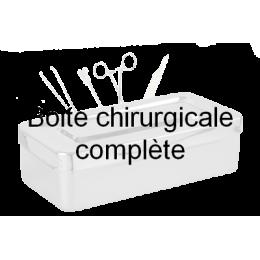 Boîte pour chirurgie vasculaire