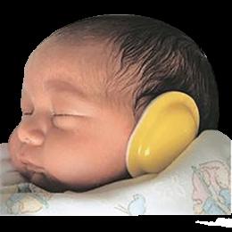 Atténuateurs de bruit amagnétiques (MiniMuffs) pour néonatalogie (boite de 18)