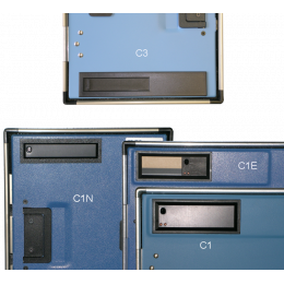 Fenêtre pour cassette radiographique rapide 14mm