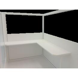 Plan de travail pour paravent panoramique (par 10 cm linéaire)