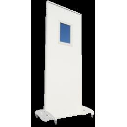 Paravent plombé mobile pb 2 mm vitré (verre 30 x 40 cm)