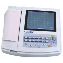 Electrocardiographe ECG Colson Cardi-12 (12 pistes) avec interprétation