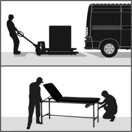 Prestation installation M pour mobilier de 100 à 150Kg