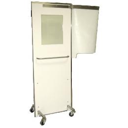 Paravent plombé mobile vitré - Eq pb 2 mm