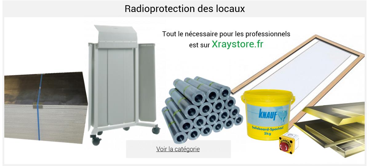 Radioprotection des locaux
